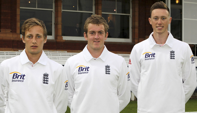 Billy Root, Adam Dobb and Adam Hose