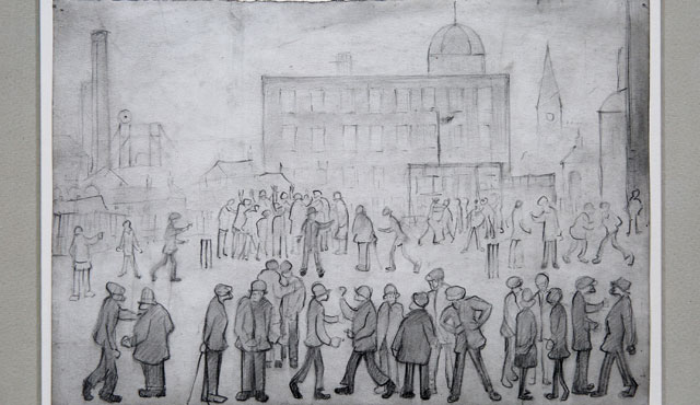 Lowry - A cricket match