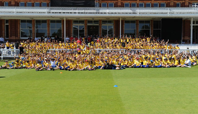 Over 500 pupils visit Lord's for Spirit of Cricket Day