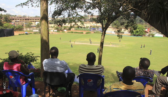 A view of Lugogo Cricket Oval in Kampala