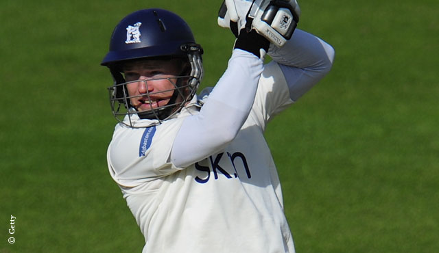 Ambrose was the star for Warwickshire