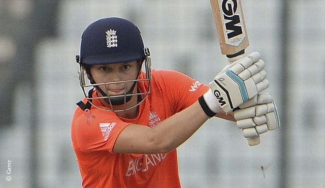 Amy Jones will replace Sarah Taylor