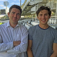Zafar Ansari and Andrew Miller