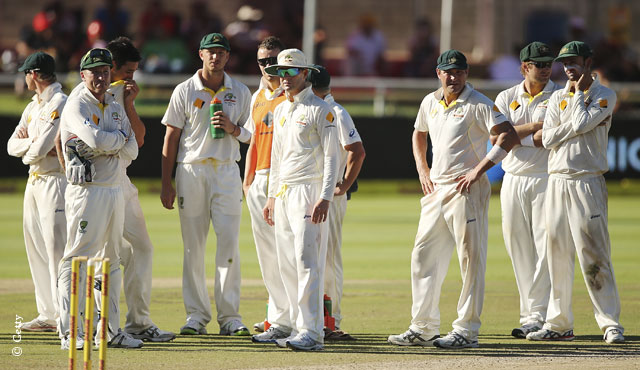 Australia wait for the decision to be made