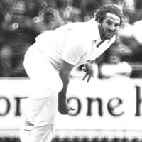 Ian Botham in action