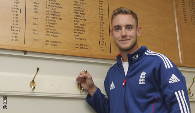 Broad on the Board
