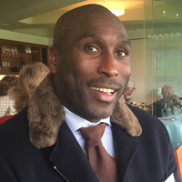 Sol Campbell Lord's