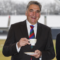 Jim Carter and Adaeze Uyanwah, London's Guest of Honour