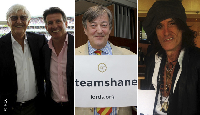 Michael Parkinson, Seb Coe, Stephen Fry and Joe Perry are all on the latest podcast