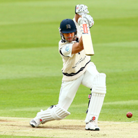 Nick Compton batting in the LV=County Championship