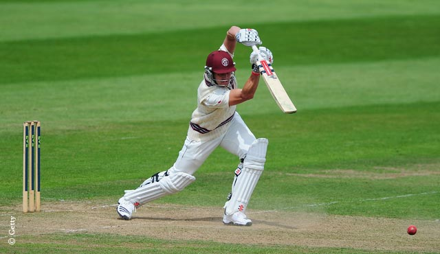 Nick Compton made 83 not out