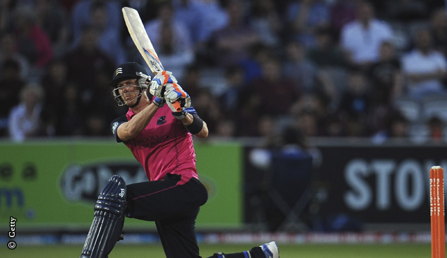 Joe Denly stuck 57 to top score for the Panthers