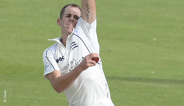 Neil Dexter was the pick of Middlesex's bowlers on day one