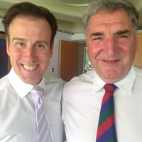 Anton Du Beke and Jim Carter