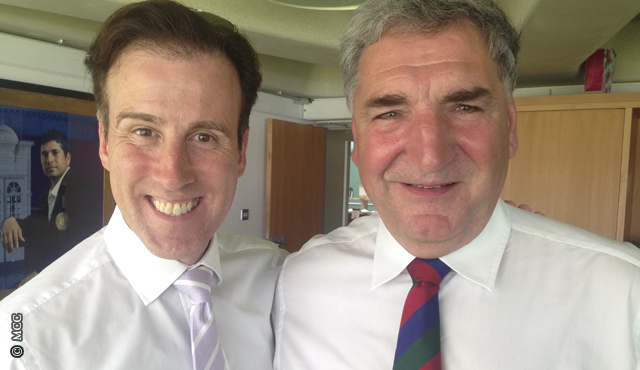 Strictly Come Dancing's Anton Du Beke and Downton Abbey's Jim Carter