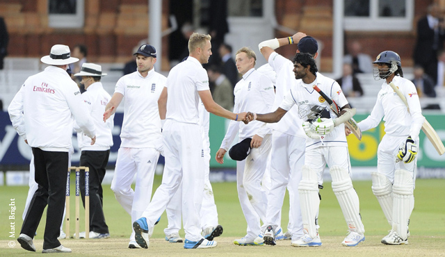 England were narrowly denied a victory