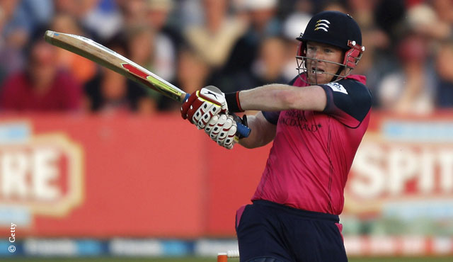 Eoin Morgan will be available from Middlesex's first match