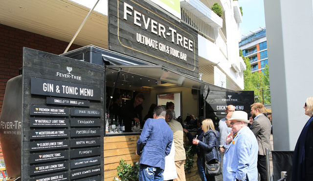 Fever-Tree signs partnership deal at Lord's