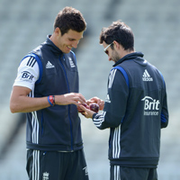 Steven Finn and Graeme Onions