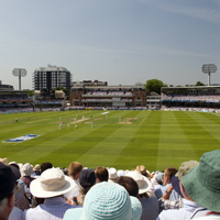 Lord's during a Test Match