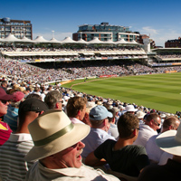 Lord's Ground in the sun