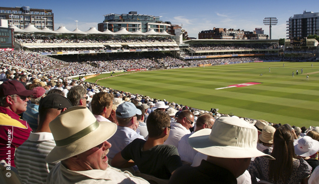 Spectators at Lord's can now enjoy free WiFi