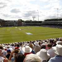 Ground shot of Lord's