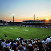 Lord's at sunset