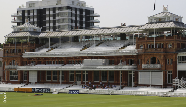 The famous Lord's Pavilion