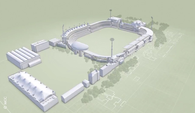 Gatting unveils 3D model of Lord's