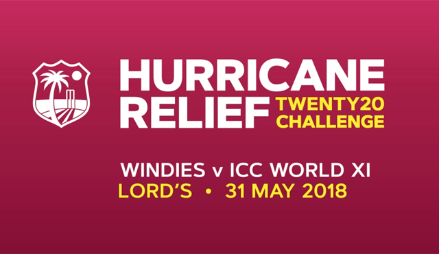 West Indies v ICC Rest of the World XI