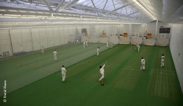 Indoor cricket matches