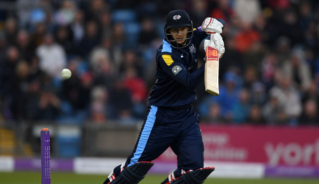 Joe Root in action for Yorkshire