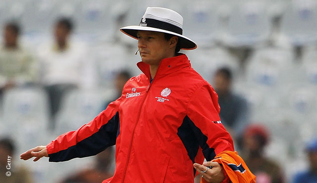 Richard Kettleborough will umpire MCC v RoW