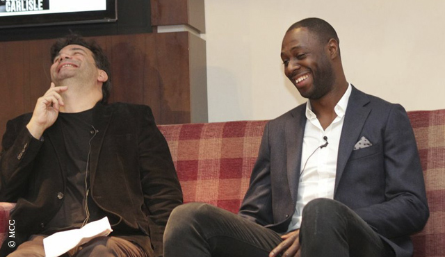 Ledley King at the Festival