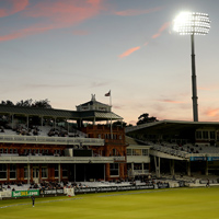 Lord's Pavilion day/night