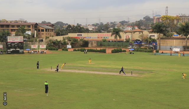 The Lugogo Cricket Oval in Kampala