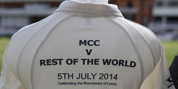 MCC v RoW Replica Shirt BACK