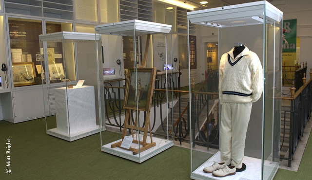 The MCC Museum at Lord's houses the Ashes Urn