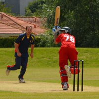 MCC bowling to Denmark A