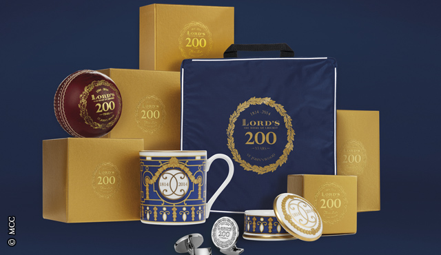 Lord's wraps up Christmas with new Bicentenary gifts