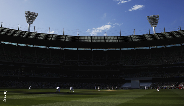 The MCG hosted MCC v MCC
