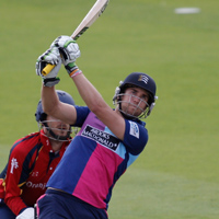 Dawid Malan batting for MCC