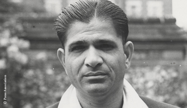 Former India all-rounder Vinoo Mankad
