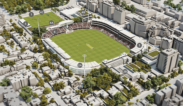 MCC announces a new Lord's Masterplan