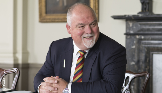 MCC President for 2013/14 Mike Gatting