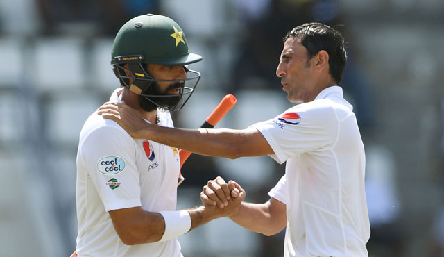 The pair scored a total of 28,922 international runs for Pakistan