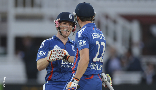 Eoin Morgan and Craig Kieswetter
