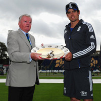 David Morgan and Alastair Cook