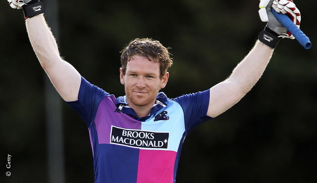 Majestic Morgan gives Middlesex win